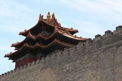 The Forbidden City of Beijing Stock Images
