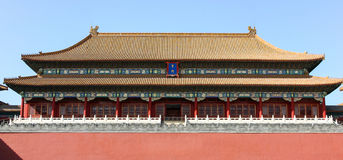 Forbidden City Beijing Stock Image