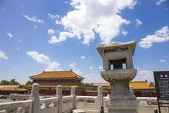 Forbidden City Building stock images