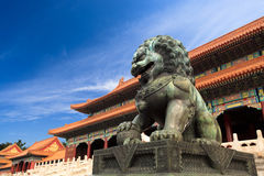 The forbidden city, China Royalty Free Stock Photo