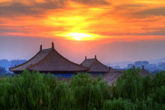 The Forbidden City in China Stock Image