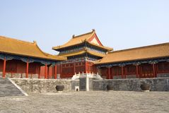 Forbidden city China Royalty Free Stock Photo