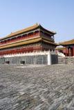 Forbidden city China stock image