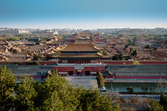 Forbidden City in China. This is Chinese ancient emperor's residence, very majestic, has 500 years of history Stock Photos