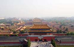 Forbidden City Chinese palace in China Royalty Free Stock Photo