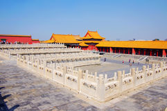 Forbidden City Chinese palace in China Royalty Free Stock Photos