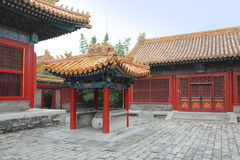 Forbidden city detail Stock Image