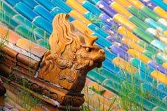 Forbidden City Dragon Stock Photo