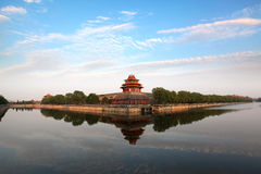 The Forbidden City at dusk Royalty Free Stock Photography