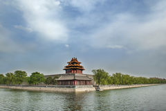 The forbidden city. Of China, is a historic architecture and the world cultural heritage Stock Photography