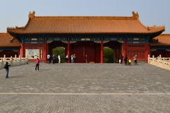 Forbidden City Gate, Beijing, China Royalty Free Stock Photos