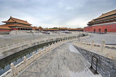 The Forbidden City (Gu Gong) Stock Photos