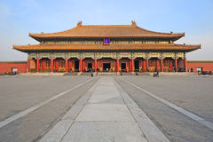 The Forbidden City (Gu Gong) Royalty Free Stock Photography