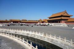 The Forbidden City (Gu Gong) Stock Photography