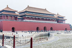 Forbidden City or Gugong, Beijing, China Stock Photo