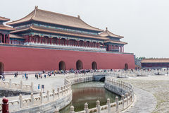 Forbidden City or Gugong, Beijing, China Stock Image