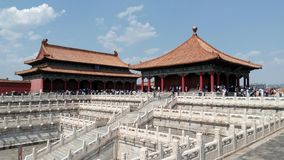 Forbidden city - Beijing, China Stock Photos