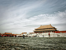 Forbidden City - Hall of Supreme Harmony royalty free stock image