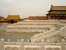 Forbidden city. In a haze day,Beijing,China Stock Images