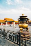 Forbidden City Historic architecture in Beijing, China. Forbidden City, Historic architecture in Beijing, China stock photography