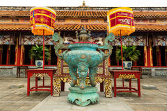 The Forbidden City at Hue. Vietnam Royalty Free Stock Photos