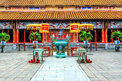The Forbidden City at Hue. Vietnam royalty free stock images