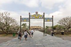 Forbidden city Hue, Vietnam Stock Images