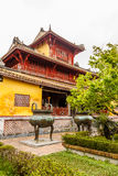 The Forbidden City at Hue, Vietnam Stock Image