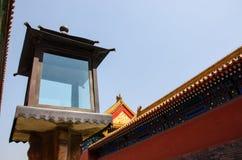 Forbidden City i Peking Royaltyfri Foto