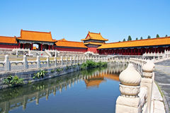 Forbidden City i Peking, Kina Royaltyfri Bild