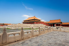 The forbidden city,imperial palace Royalty Free Stock Photos