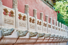 Forbidden City imperial palace Beijing China Stock Image