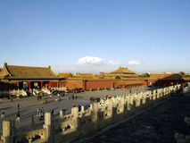 The Forbidden City(Imperial Palace) Royalty Free Stock Photos