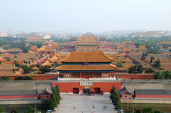 Forbidden City In Beijing, China Royalty Free Stock Images