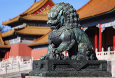 Free Forbidden City Lion Stock Images - 65541164