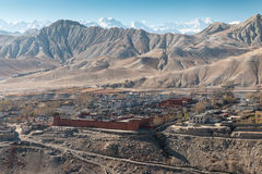 The forbidden city of Lo Manthang. Royalty Free Stock Photography