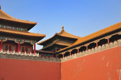 Forbidden City - Meridian Gate Stock Photography