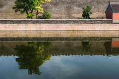 The Forbidden City Moat Stock Photography