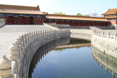 Forbidden City Moat Royalty Free Stock Photography