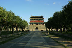 Forbidden City and moat. Forbidden City in Pekin China Royalty Free Stock Images