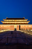 Forbidden city at night Royalty Free Stock Photos