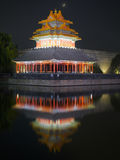 Forbidden City night scenes Stock Photos