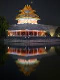 Forbidden City night scenes Stock Photos
