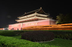 Forbidden City at night Stock Photos