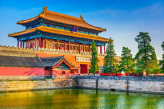 Forbidden City North Gate. Beijing, China Forbidden City at the North Gate royalty free stock photos