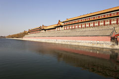 Forbidden City Over Water Stock Image