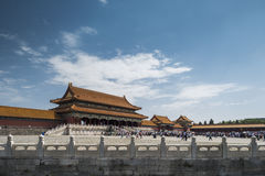 Forbidden city. A palace in forbidden city stock image