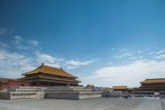 Forbidden city. A palace in forbidden city stock photography