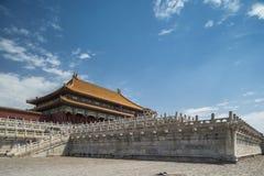 Forbidden city. A palace in forbidden city stock photos