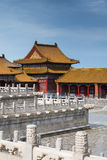 Forbidden city. A palace in forbidden city royalty free stock photography